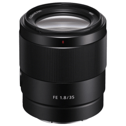 Sony FE 35 mm f/1.8 Lens (SEL35F18F//CSYX, Black)_1