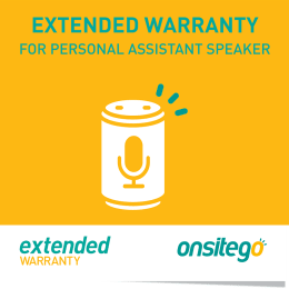 Onsitego 1 Year Extended Warranty for Personal Assistance Speaker (Rs.20,000 - Rs.25,000)_1