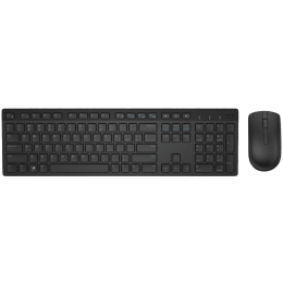 Dell Wireless Keyboard & Mouse Combo (2.4 GHz Interface, KM636, Black)_1