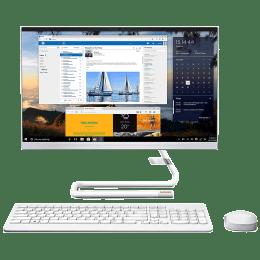 Lenovo IdeaCentre AIO 3 (F0EX0082IN) Ryzen 3 Windows 10 Home All-in-One Desktop (8GB RAM, 1TB HDD, AMD Radeon Graphics, MS Office, 54.61cm, Foggy White)_1