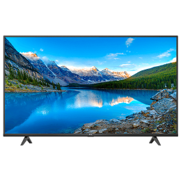 TCL P615 108cm (43 Inch) 4K Ultra HD LED Android Smart TV (Hands-Free Voice Control, 43P615, Black)_1