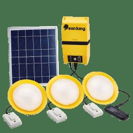 Sun King Home 120 4.2 Watts LED Solar Lamp (600 Lumens, Polycrystalline Solar Panel, SK-407, Yellow/White)_1