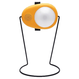 Sun King Boom 1.04 Watts LED Solar Lamp (160 Lumens, With a Radio & MP3 Player, SK-321, Yellow/White)_1