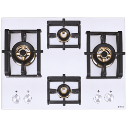 Elica Inox Pro FB MFC 4B 70 DX FFD 4 Burner Stainless Steel Built-in Gas Hob (Automatic Ignition, 3024, Steel)_1