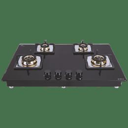 Elica Flexi FB HCT 475 DX 4 Burner Built-in Gas Hob (Automatic Ignition, 2935, Black)_1