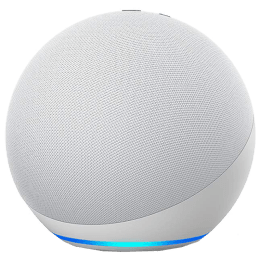 Amazon Echo 4th Gen Alexa Built-In Smart Speaker (Premium Dolby Sound, B085FWR7T4, White)_1