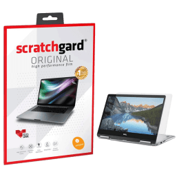 "Scratchgard Anti-Glare Screen Guard For 13.3 Inch Laptop (Air-Bubble Proof, AG LT - 13.3"", Transparent)_1"