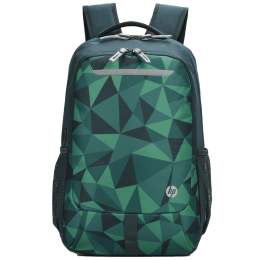 HP Lightweight 200GRN Air Mesh Laptop Backpack For 15 Inch Laptop (Padded Shoulder Straps, 1B3M5AA#ACJ, Green Accents & Camoprints)_1