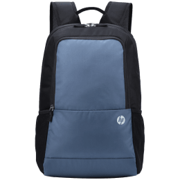 HP Lightweight INDIA100BLK Air Mesh Laptop Backpack For 15 Inch Laptop (Padded Shoulder Straps, 1B3M3AA#ACJ, Black and Grey)_1