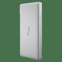Syska 10000 mAH 2-Port Power Bank (SYSKA-POWER SLICE, White)_1
