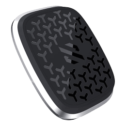 SkyVik Truhold Stick-on Magnetic Mobile Holder (Car/Office/Home, MM-RS1S, Silver)_1