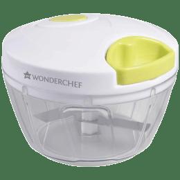 Wonderchef String Chopper (Suitable for Fruits + Vegetable, 3 Blades, 63152935, White/Green)_1