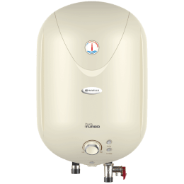 Havells Puro Turbo 25 Litres 5 Star Storage Water Geyser (3000 Watts, GHWAPTTIV025, Ivory)_1
