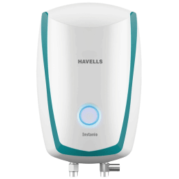 Havells Instanio 1 Litre Instant Water Geyser (4500 Watts, GHWAIBPWB001, White & Blue)_1