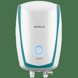 Havells Instanio 1 Litre Instant Water Geyser (3000 Watts, GHWAIAPWB001, White & Blue)_1