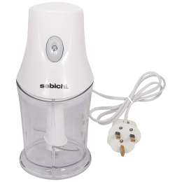 Sabichi 0.35 Litres Mini Chopper (Suitable for Fruits, 173690, White)_1