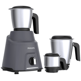 Philips Avengers 750 Watts 3 Jars Mixer Grinder (Auto Cut-off, HL7760, Grey)_1