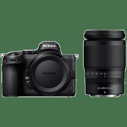 Nikon Z 5 24.3MP Mirrorless Camera (Single Lens Kit, Diopter Adjustment, VOK040YN, Black)_1
