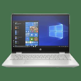 HP Pavilion x360 14-dh1178tu (231T0PA#ACJ) Core i3 10th Gen Windows 10 Home 2-in-1 Laptop (8GB RAM, 512GB SSD, Intel UHD Graphics, 35.56 cm, Mineral Silver)_1