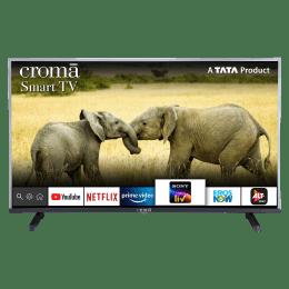 Croma 100.3cm (39.5 Inch) Full HD  Smart TV (Dual Box Speakers, CREL7362N, Black)_1