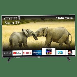 Croma 109.2cm (43 inch) Full HD LED Smart TV (Dual Box Speakers, CREL7361N, Black)_1