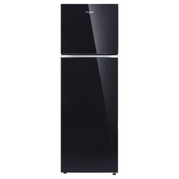 Whirlpool 265 Litres 2 Star Frost Free Double Door Refrigerator (FreshFlow Air Tower, Neo 278GD PRM, Crystal Black)_1