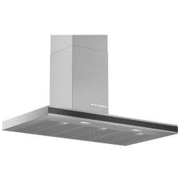 Bosch Serie 4 750 m³/hr 90cm Wall Mounted Chimney (DWB97FM50, Stainless Steel)_1