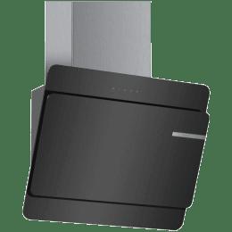 Bosch Serie 4 905 m³/hr 60cm Wall Mounted Chimney (DWK068G60I, Black)_1