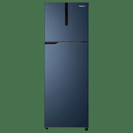 Panasonic 268 Litres 2 Star Frost Free Inverter Double Door Refrigerator (ECONAVI: Smart Cooling Technology, NR-FBG27VDA3, Deep Ocean Blue)_1