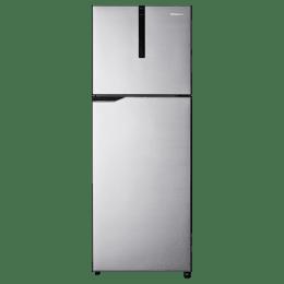 Panasonic 268 Litres 3 Star Frost Free Inverter Double Door Refrigerator (ECONAVI: Smart Cooling Technology, NR-FBG27VSS3, Shining Silver)_1