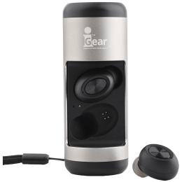 iGear Twin Bod 2.0 Wireless Earpods with Speaker (iG – 1032, Silver)_1