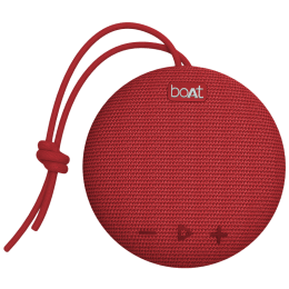 Boat Stone 5 Watts Portable Bluetooth Speaker (Stereo Channel, 193, Red)_1