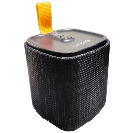 Croma Kube 5 Watts Portable Bluetooth Speaker (Built-in Battery, CRER2115, Black)_1