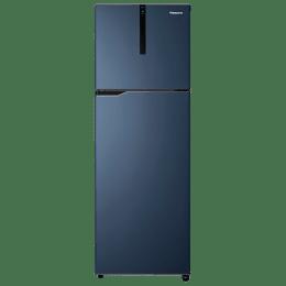 Panasonic 307 Litres 3 Star Frost Free Inverter Double Door Refrigerator (ECONAVI: Smart Cooling Technology, NR-BG313VDA3, Deep Ocean Blue)_1