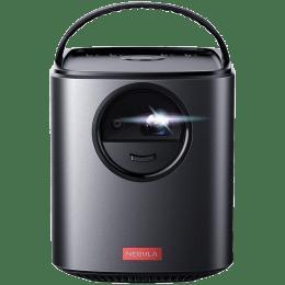 Anker Nebula Mars II HD Projector (DLP, 300 Lumens, Android 7.1, HDMI + USB + Bluetooth + Wi-Fi + Screen Mirroring, Dual Speakers, Black)_1