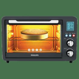 Philips 25 Litres OTG (10 Auto Cook Menu, HD6975/00, Grey)_1