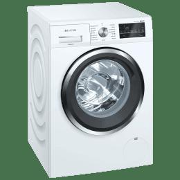 Siemens iQ500 10 Kg Fully Automatic Front Load Washing Machine (WM14U460IN, White)_1