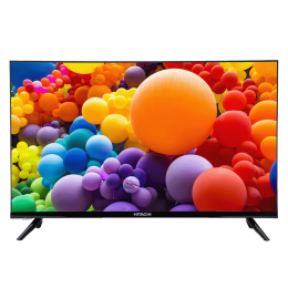 Hitachi 81.28cm (32 Inch) HD Ready Android Smart TV (Dual Speakers, LD32VR02H, Black)_1