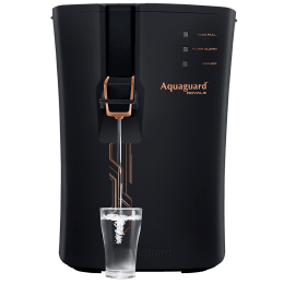 Aquaguard Royale RO+UV+SS+ZPP Electrical Water Purifier (Mineral Enhancer, Black/Copper)_1
