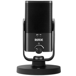 Rode NT Hanging Wired Condenser Microphone (Cardioid Pickup Pattern, NT-USB Mini, Black)_1