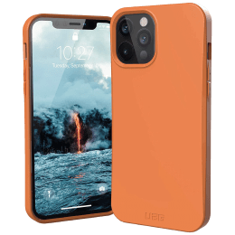 UAG Outback TPU Back Case For iPhone 12 Pro Max (Compact and Flexible, X0018RJ18T, Orange)_1
