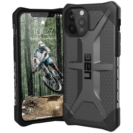 UAG Plasma TPU Back Case For iPhone 12 and iPhone 12 Pro (Traction Grip, X0018RJ1HP, Ash)_1