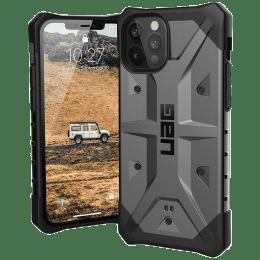 UAG Pathfinder TPU Back Case For iPhone 12 (Chiseled Designed Corners, X0018RFKS9, Silver)_1