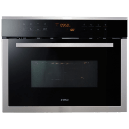 Elica EPBI 390 Compact 39 Litres Built-in Convection Oven (Stainless Steel + Glass Finish, Black)_1