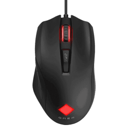 HP Omen Vector USB Wired Mouse (Optical, 6 Programmable Buttons, 8BC53AA, Black)_1