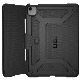UAG Metropolis Thermoplastic Polyurethane, Polycarbonate Flip Case For iPad Air 10.9 Inch (Feather-Light Construction, UGMP_IPD109AIR4_BK, Black)_1