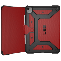 UAG Metropolis Thermoplastic Polyurethane, Polycarbonate Flip Case for iPad Air 10.9 Inch (Feather-Light Construction, UGMP_IPD109AIR4_MG, Magma)_1