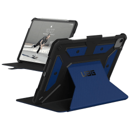 UAG Metropolis Thermoplastic Polyurethane, Polycarbonate Flip Case For iPad Air 10.9 Inch (Feather-Light Construction, UGMP_IPD109AIR4_CB, Cobalt)_1
