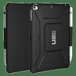 UAG Metropolis Thermoplastic Polyurethane, Felt Lining, Polyurethane Flip Case For iPad Mini 7.9 Inch (Feather-Light Composite Construction, UGMP_IPDM4_BK, Black)_1