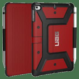 UAG Metropolis Thermoplastic Polyurethane, Felt Lining, Polyurethane Flip Case For iPad Mini 7.9 Inch (Feather-Light Composite Construction, UGMP_IPDM4_MG, Magma)_1